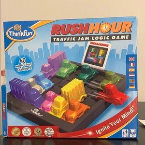 Rush Hour Thinkfun logic game Get them off tablets